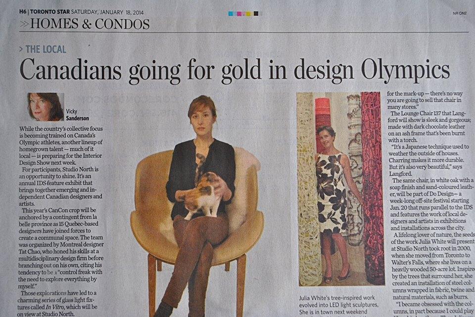 Julia Toronto STar article