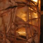 Ivory Light Column (detail)