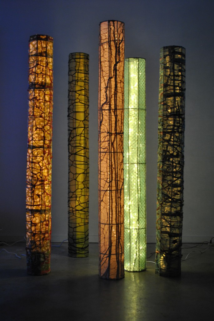 Forest of Light Columns