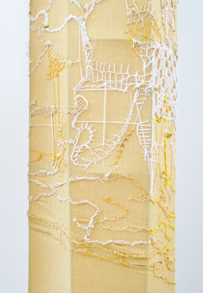 Honey Light Column (detail)