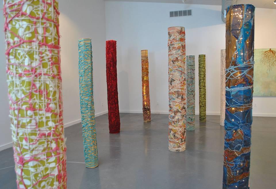 Forest of Columns (Durham Art Gallery)