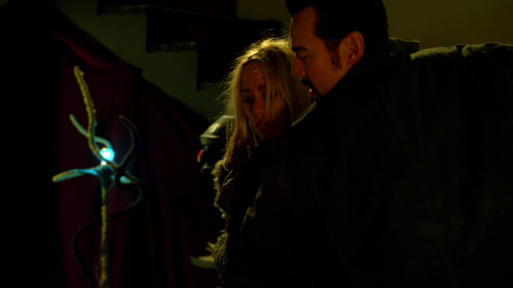 Fet and Dutch and Blue Light Sculpture in 'the Strain'