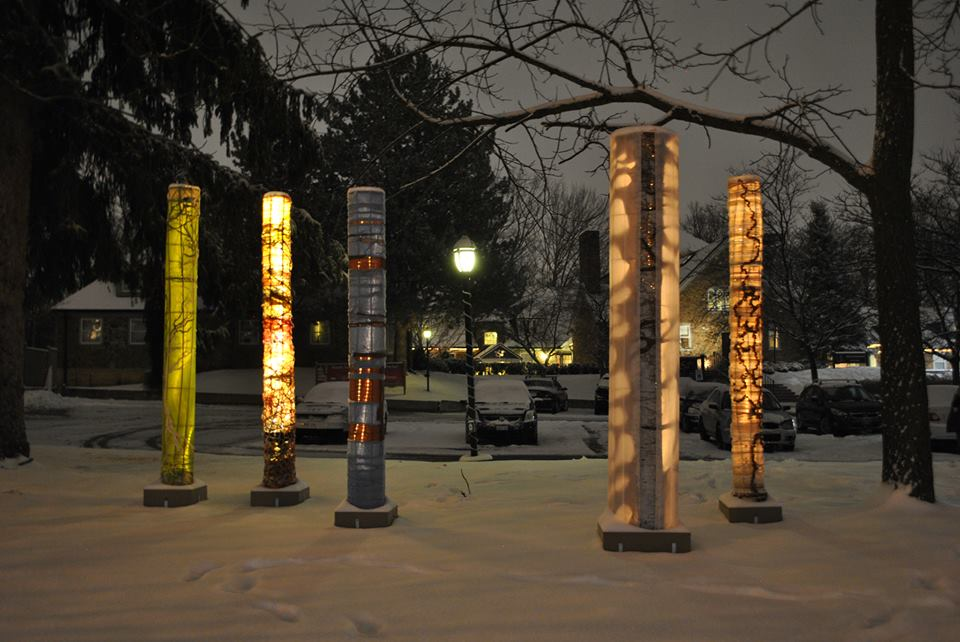 Forest of Light Columns at the Glenerin Inn