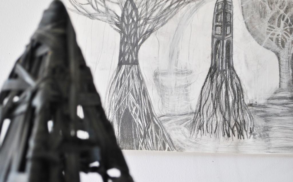 original Water Shadows drawing
