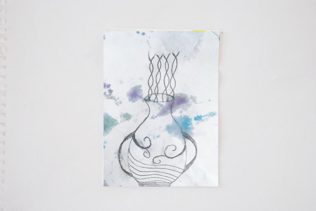 Water Doodle Vessel 1